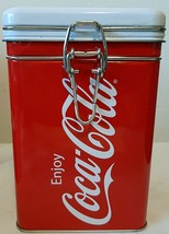 2011 Coca-Cola The Real Thing Tin Canister - $19.00