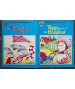 2 books Tiggy goes to the Hospital and the Flyaway Kite A Happy Ending Book - $5.00