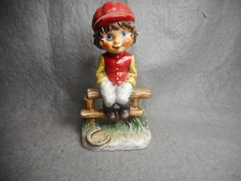 VINTAGE GOEBEL LITTLE JOCKEY BOY 11 026-14 1977 TMK 5 MICHAEL T GERMANY N/R - $19.99