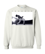 Queen Freddie Mercury Bohemian Rhapsody G180 White Pullover Sweatshirt  ... - $29.95+