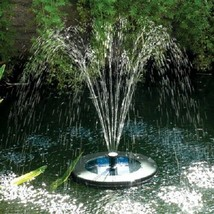 Pondxpert Solar Shower Float 200, Floating Solar Powered Fountain with L... - $164.29