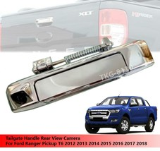 Chrome Tailgate Handle Rear View Camera For Ford Ranger T6 Pickup 2012 -... - $119.99