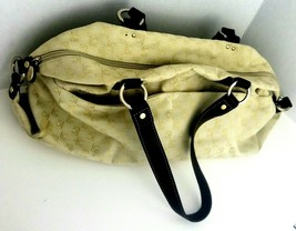 Liz Claiborne large beige purse vintage great condition - $18.35
