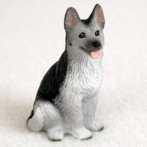 Conversation Concepts German Shepherd Black & Silver Tiny One Figurine - $9.99