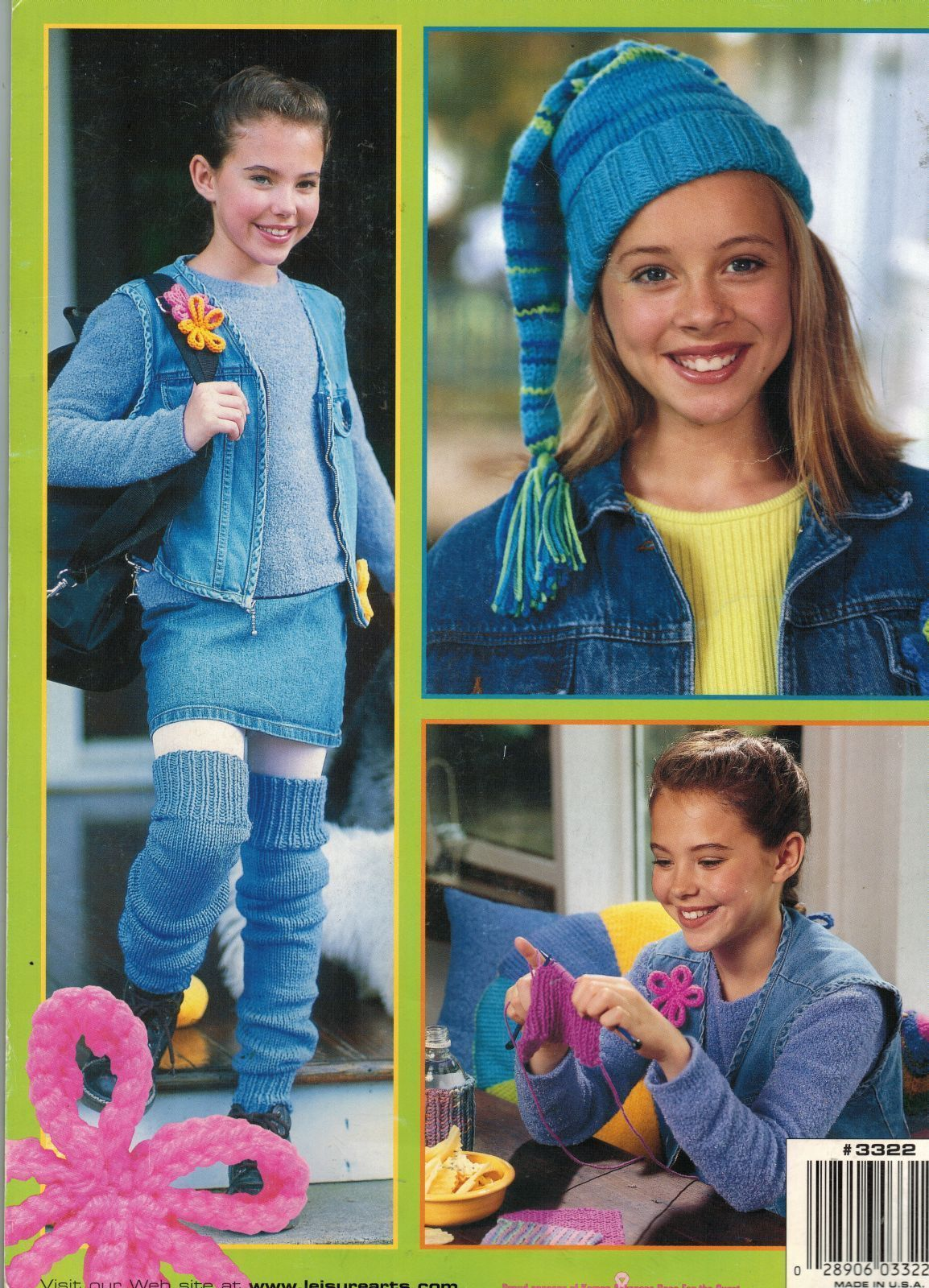 Teach Me To Knit Beginners 12 Projects Tassel Hat Leg Warmers Lap Wrap Book