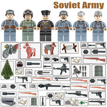 WW2 Soviet Military Soldier With Motorcycle Mortar Fencingwire Etc Fit L... - $14.99