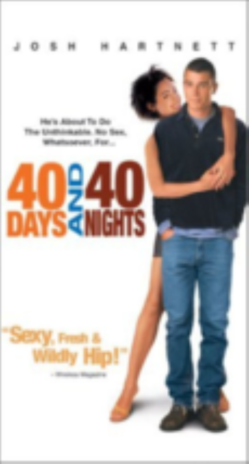 40 Days and 40 Nights Vhs