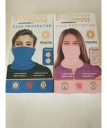 Copper Fit Guardwell Face Protector Youth Set Blue & Pink - $9.99