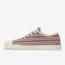 Converse Chuck Taylor All Star Coupe Woven Ox White Navy Red Japan Exclusive - $222.53+