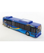 Daron MTA 11 inch Single Bus in New Blue Livery Friction Rolling - $31.03