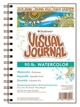 """Strathmore 400 Series Visual Watercolor Journal, 90 LB 5.5""""x8"""" Cold Pres... - $9.17"""