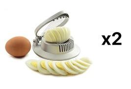 Norpro Mushroom Wire Slicer Egg Fruit Strawberry Garnish Round New (2-Pack) - €15,04 EUR