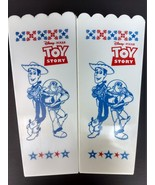 Walt Disney Pixar Toy Story movie plastic popcorn containers Woody Jessi... - $19.77