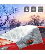 NRC&XRC All Weather Universal Half Car Covers Windproof DUST Over UV Pro... - $21.01
