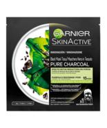 Garnier SkinActive Hydra Bomb Mask Tissu Sheet Mask Pure Charcol Detox  - $12.86