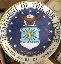 United States Air Force Commemorative Plate NEW Unbreakable - $28.71