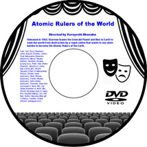 Atomic Rulers of the World 1965 DVD Movie Science Fiction Ken Utsui Junk... - $3.99