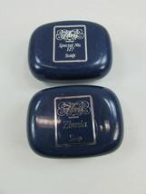 2 Vintage Floris of London Hotel Soap Bar 34186 Travel Size Zinnia No 127 - $14.55