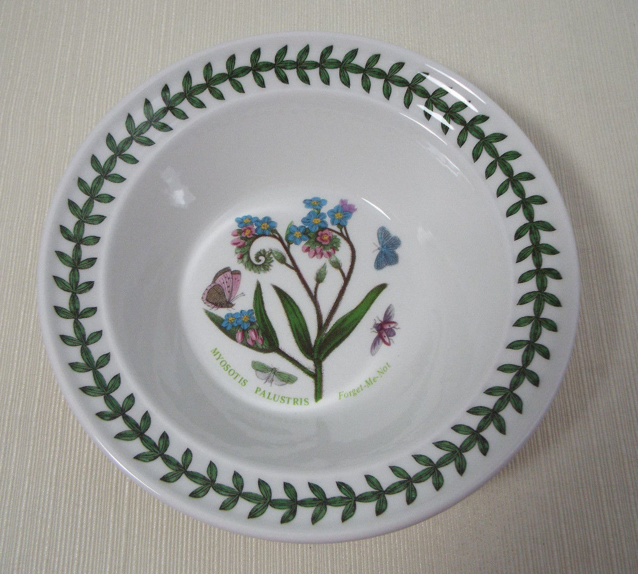 Portmeirion BOTANIC GARDEN Daisy Rimmed Cereal Bowl Excellent Condition