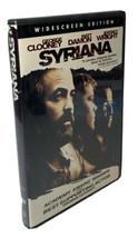Syriana DVD Widescreen Washington Middle East Oil Corruption Drama Movie... - $4.62