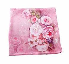 PANDA SUPERSTORE Pink Fragrance Silk Scarf Shawl Elegant Scarves Women Scarves