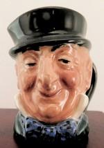 "Royal Doulton Mini Character Jug ""Mr. Micawber"" D6180 - Style 1 - $12.34"