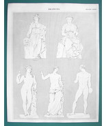 DRAWING for Artists Nude Figures Thalia Clia Venus - c. 1835 Fine Qualit... - $27.68