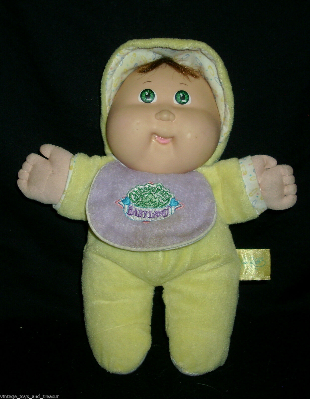 "Primary image for 12"" VINTAGE 1983 CABBAGE PATCH KIDS BABYLAND SQUEAKER DOLL STUFFED ANIMAL PLUSH"