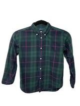 Ralph Lauren kids boy shirt plaid long sleeve button front size 7 - $13.09