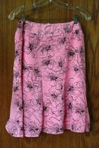 Worthington Pink Floral Skirt - Size 14 - $11.99
