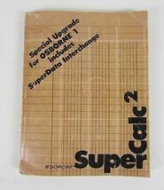 SORCIM - Special Upgrade for Osborne1 includes Superdata Interchange Sup... - $7.97