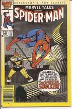 Marvel Tales #186 Spider-Man The Sinister Shocker Peter Parker Classic  - $1.95
