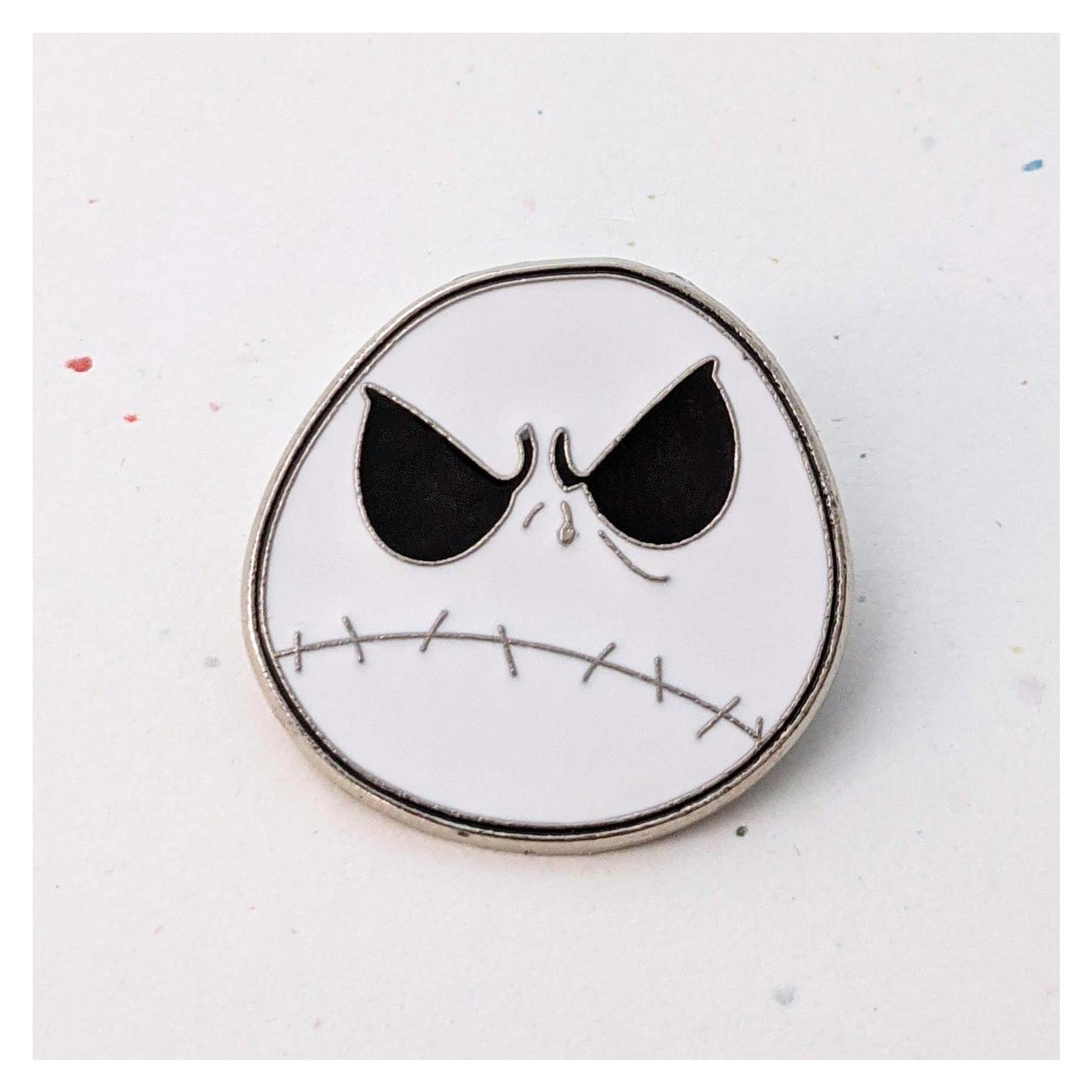 Nightmare Before Christmas Disney Lapel Pin: Jack Skellington Frowning - $9.90