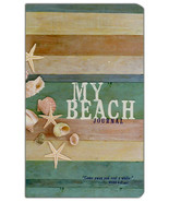 """My Beach Journal NEW Hardcover Journal """"Come away and rest a while."""" Mar... - $10.14"""