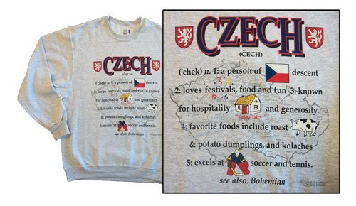 Czech republic national definition sweatshirt 10261