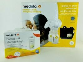 Medela In Style Advanced Double Electric Breast Pump On-The-Go Tote W MI... - $142.45