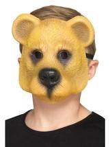 Bear Mask Infantil Marrón Claro, Niños Animales Disfraces, Talla Única - $8.11 CAD