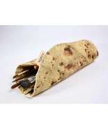 Simulation burrito pencil case and paintbrush or tool or office supply h... - $18.55