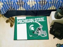 NCAA -  Michigan State Uniform Starter Rug 19 inch x30 inch   - $34.99