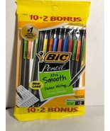 New BIC Pencil Xtra Life Medium Point 0.7 mm 10+2 Count - $8.80