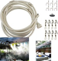 Heat Relief Premium Cooling Kit Portable Patio Outdoor Misting System 20... - $20.37