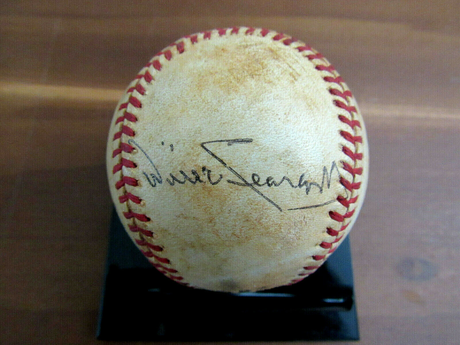 Primary image for WILLIE STARGELL PIRATES HOF SIGNED AUTO VINTAGE GAME USED FEENEY BASEBALL JSA