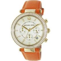 Michael Kors MK2279 Parker Glitz Saffiano Leather Women's Watch - $89.90+