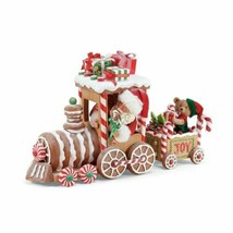Department 56 Possible Dream Santa Christmas Traditions Gingerbread Trai... - $124.42