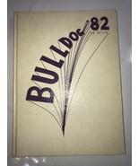 1982 MILAN HIGH SCHOOL YEARBOOK  MILAN, TENNESSEE THE BULLDOG - $46.74