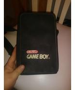 ORIGINAL NINTENDO GAMEBOY SYSTEM CARRYING CASE STORAGE BAG ZIPPER TOTE - $10.88