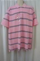 Izod Mens Casual Shirt Sz S Sachet Pink Striped Polo Heritage Oxford Cot... - $19.71