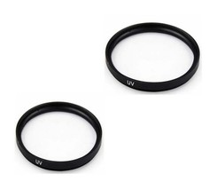 2X Uv Filters For Sony HDR-SR7 HDR-SR8 HDR-UX5 HDR-UX7 HXR-MC1500P HXR-MC1500E - $10.31