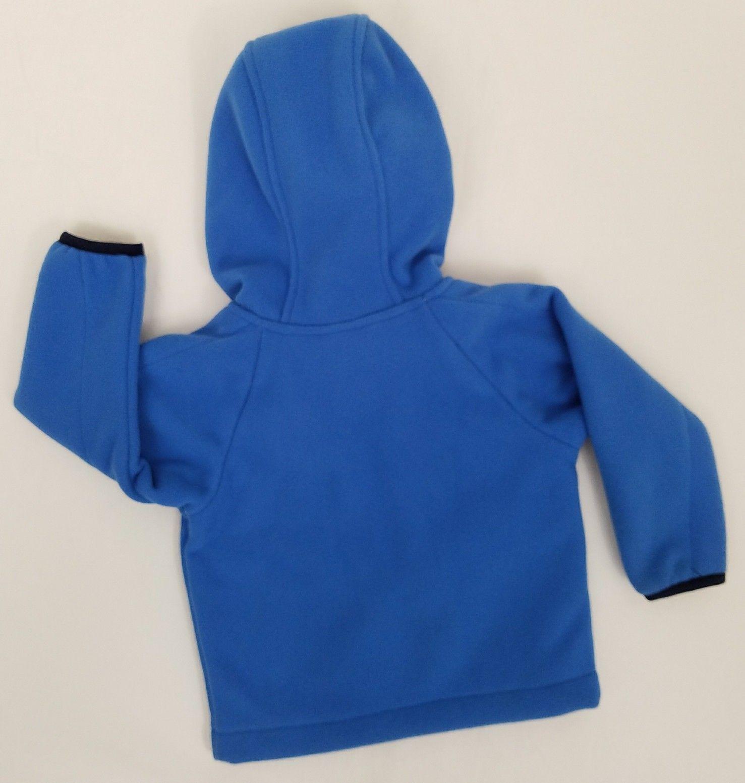 7e641eac97 North Face Infant Boys Jacket Hoodie Blue 0 - 3 Months Fleece Chimborazo  Coat