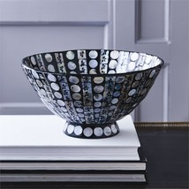 Tozai Mother of Pearl Circles Lacquered Round Bowl (food safe) - €54,24 EUR